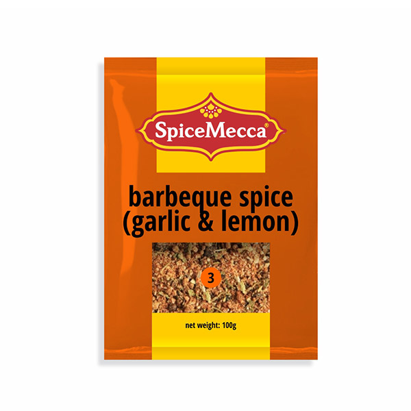 Barbeque Spice - Garlic & Lemon